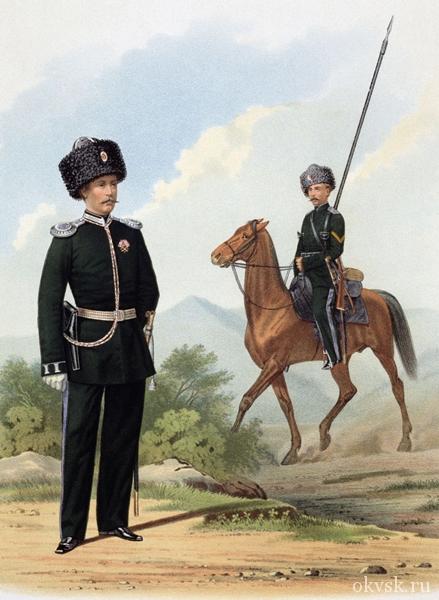 История казачьей формы одежды ОКВ