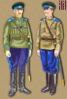 История казачьей формы одежды ОКВ (фото)
