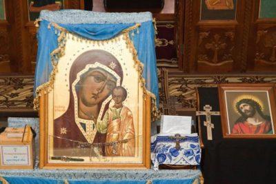 Казаки Первого отдела ОКВ приняли участие в праздновании явления Табынской иконы Богородицы (фото)